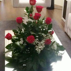 C1-Centro de 12 rosas rojas 51