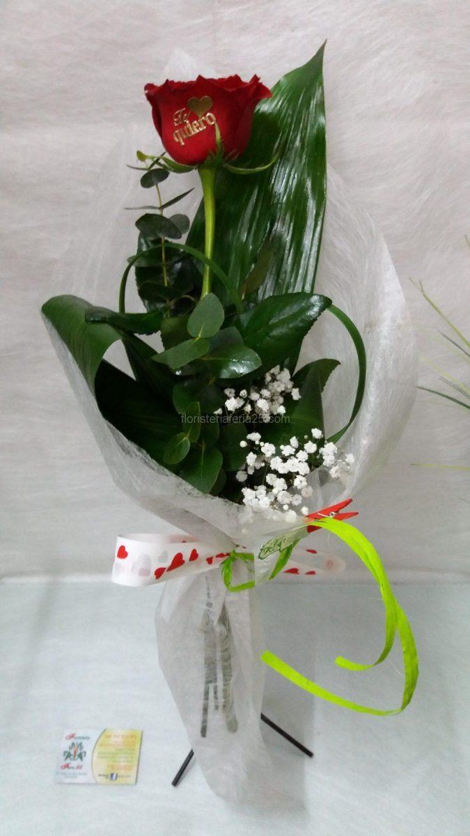 Ramo De Una Rosa Floristería Feria 25
