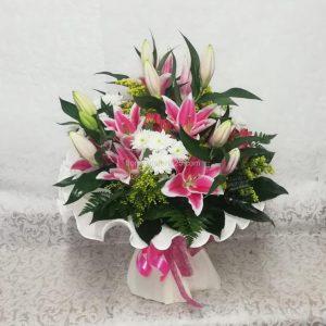 Ramo Variado Oriental Rosa