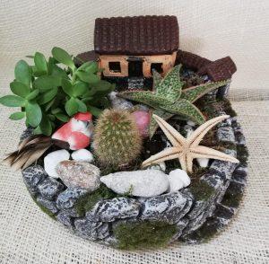 Aldea de cactus