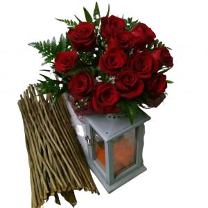 Ramo de rosas redondo