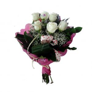 Ramo de 6 rosas colores a elegir