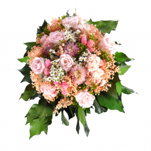Ramo preservado color rosa con rosas