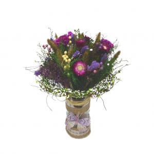Ramo preservado color violeta
